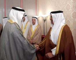 HRH CP holds weekly majlis