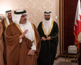 The Deputy King holds weekly Majlis